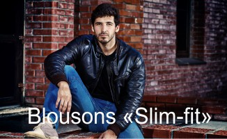 "Blousons ""Slim fit"""