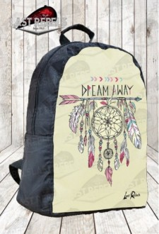 "Sac à dos imprimé indien d'amérique ""dreams away"""