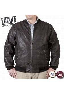 Buffalo leather jacket for men, Plus size, NINO 1869