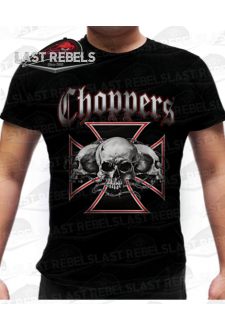 T-shirt biker Chopper