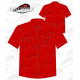 Chemise Country homme manches courtes 100% coton rouge