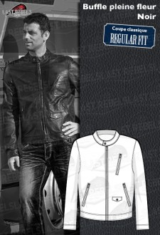 Perfecto buffalo leather REGULAR FIT for man