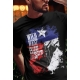 T-shirt Country Western noir rodeo Texas