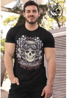 T-shirt Biker noir Last Rebels