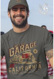 TSHK 1028 // T-shirt Hot Rod Kaki Garage